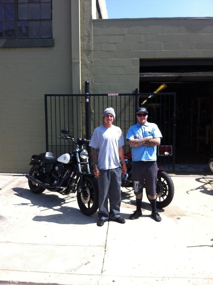 Unknown Industries Harley Wheelies San Diego Customs